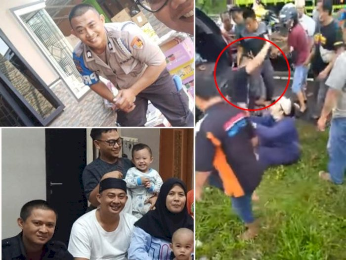 Sosok Bripka Masruri Rahman, Viral Polisi Heroik Selamatkan Nyawa Begal yang Diamuk Massa