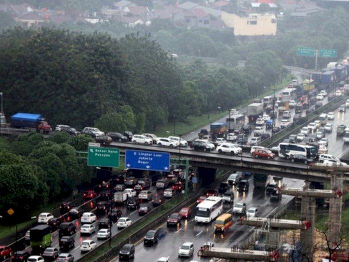 Mulai Senin, Jasa Marga Rekonstruksi KM 38 Tol Jakarta-Cikampek