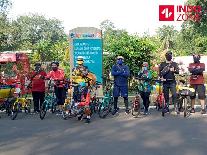 Dibuka Hari Ini, Ragunan Diserbu Warga Jakarta untuk Bersepeda