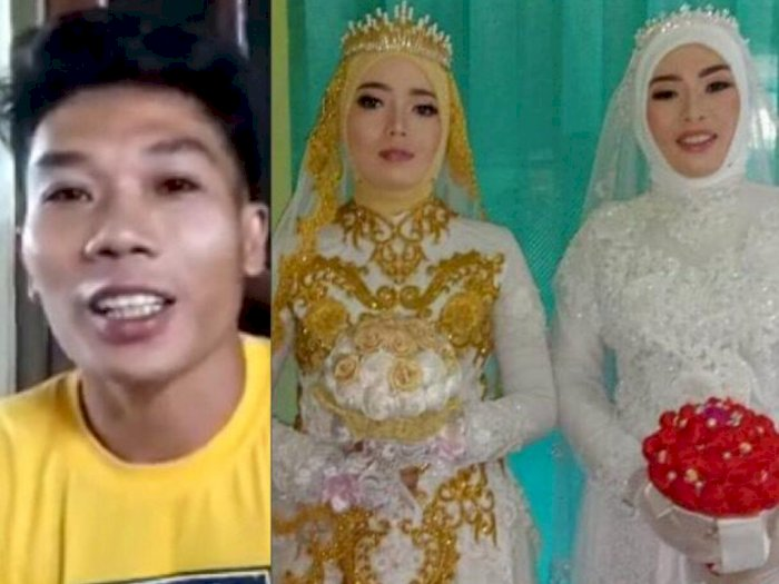 Pria Poligami Nikahi 2 Wanita Sekaligus di Lombok, Baru Pulang Jadi TKI di Malayia 9 Tahun