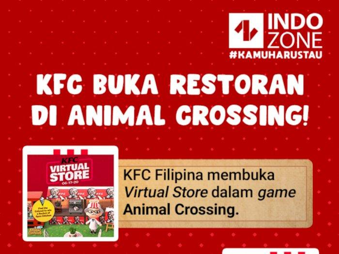 KFC Buka Restoran di Animal Crossing!