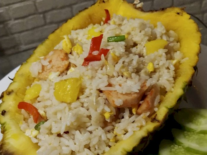Cara Membuat Nasi Goreng Nanas Ala Thailand