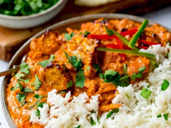 Sebuah Resep Spesial Chicken Tikka Masala dan Nasi Mentega