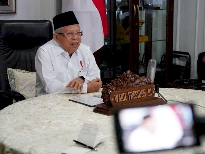 Wapres Ma'ruf Amin Berharap New Normal Bisa Dorong Pertumbuhan Ekonomi