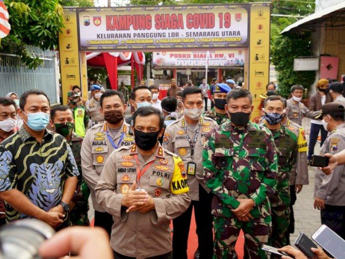 Polri Bentuk Kampung Sehat untuk Cegah Penularan Covid-19