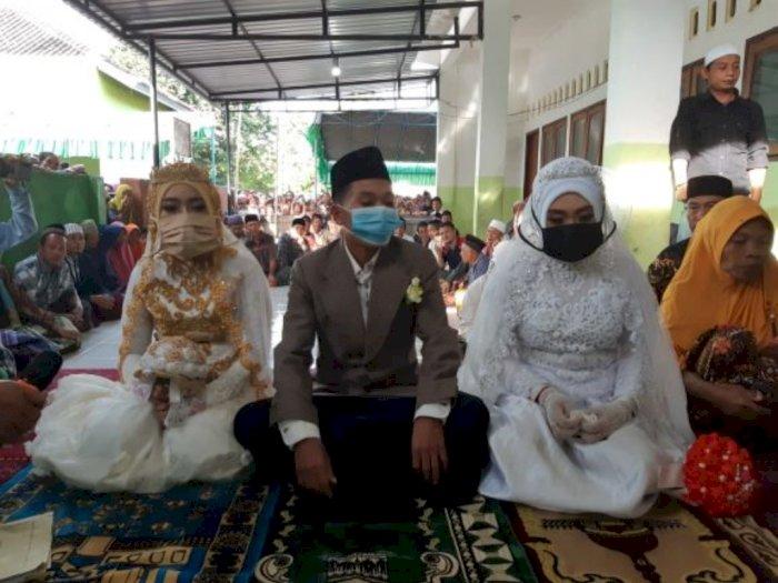 Pria Pengangguran di Lombok Barat Sukses Nikahi Dua Wanita Sekaligus, Bikin Iri Netizen