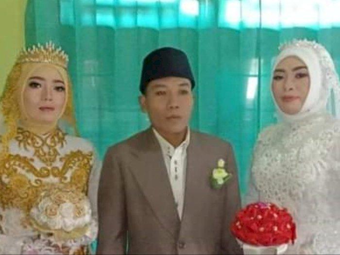 Perjalanan Cinta Saiful Bahri, Pria Beruntung yang Nikahi 2 Wanita Sekaligus