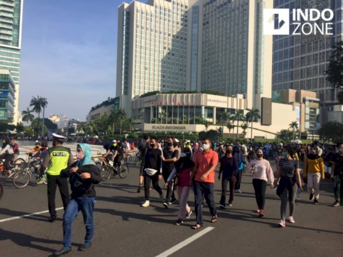 Terlalu Membludak, DPRD Minta Pemprov DKI Hentikan Car Free Day