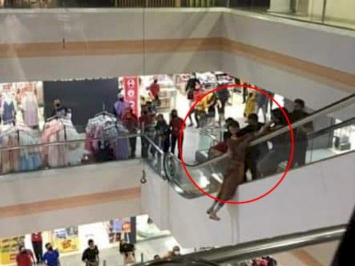 Diduga Stres, Seorang Wanita di Medan Mencoba Bunuh Diri dengan Lompat dari Lantai 7 Mal