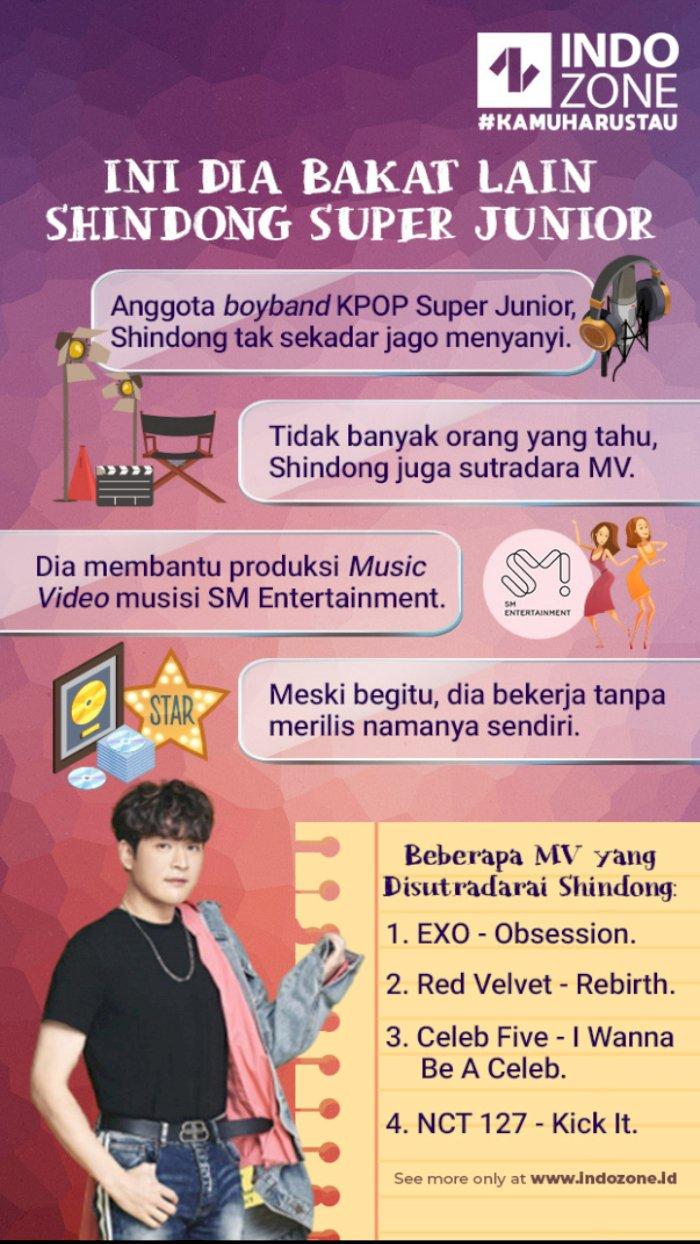 Ini Dia Bakat Lain Shindong Super Junior