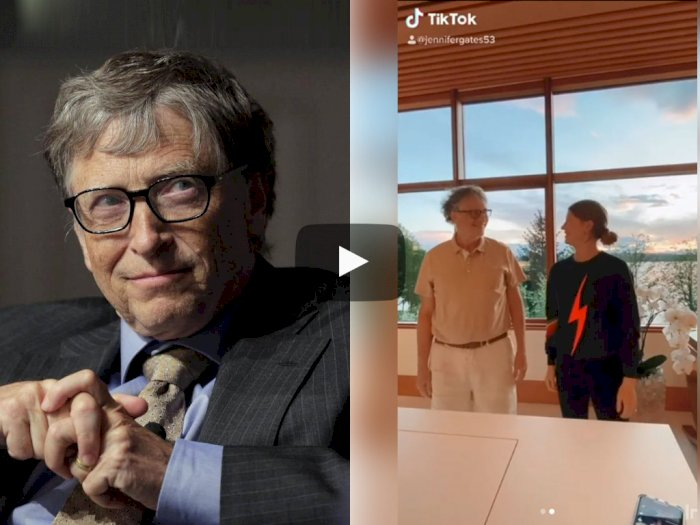Begini Aksi Kocak Pendiri Microsoft Ketika Goyang di TikTok!