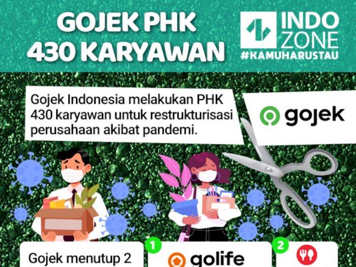 Gojek PHK 430 Karyawan
