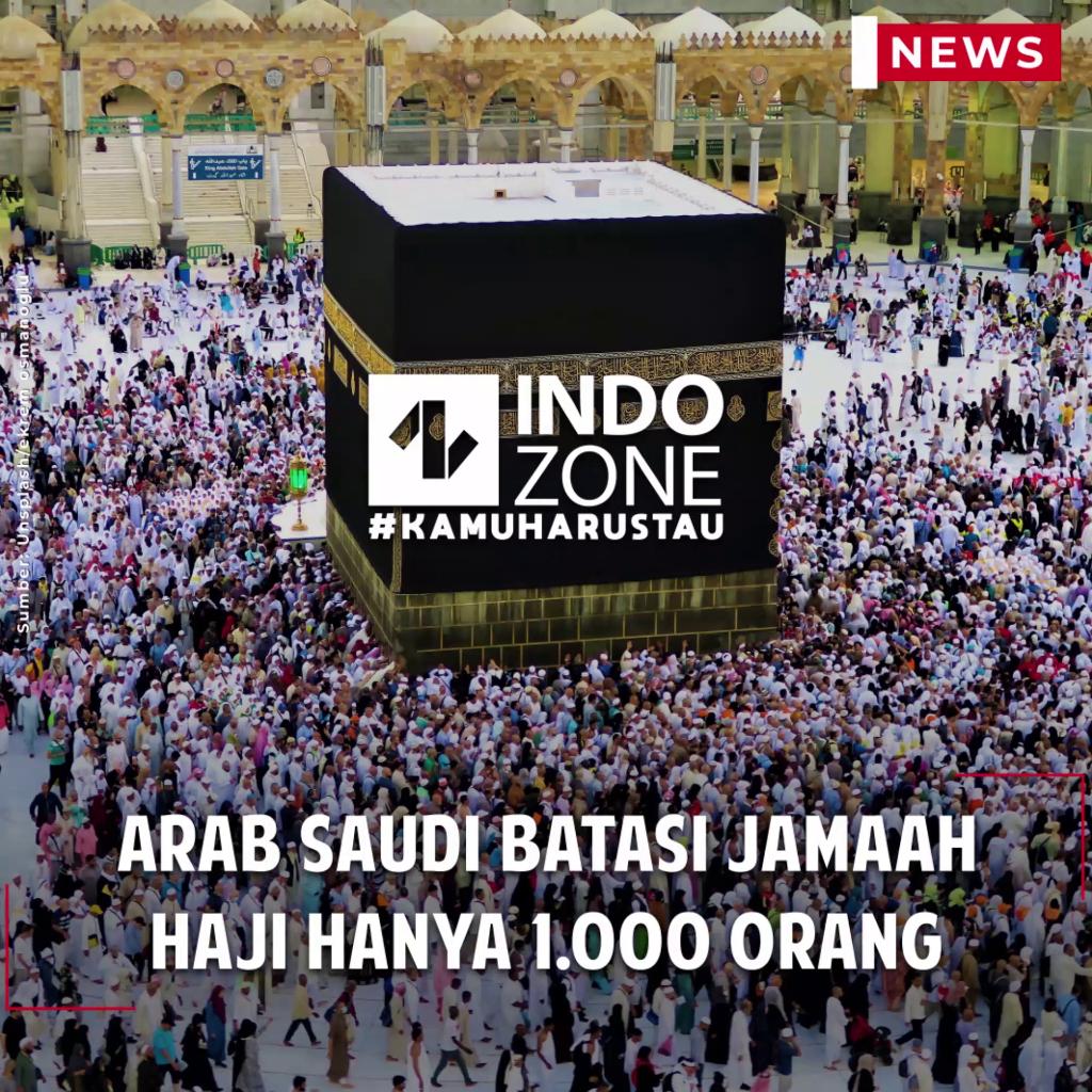 Arab Saudi Batasi Jamaah Haji Hanya 1.000 Orang
