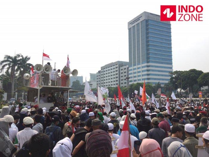 Aksi Demo di Tengah Pandemi Covid-19, Massa Abaikan Protokol Kesehatan