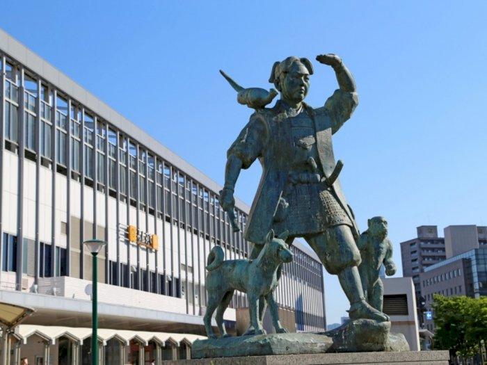Legenda Momotaro, Ikon Kebanggaan Prefektur Okayama Jepang