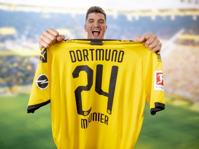 Thomas Meunier Resmi Gabung ke Borussia Dortmund
