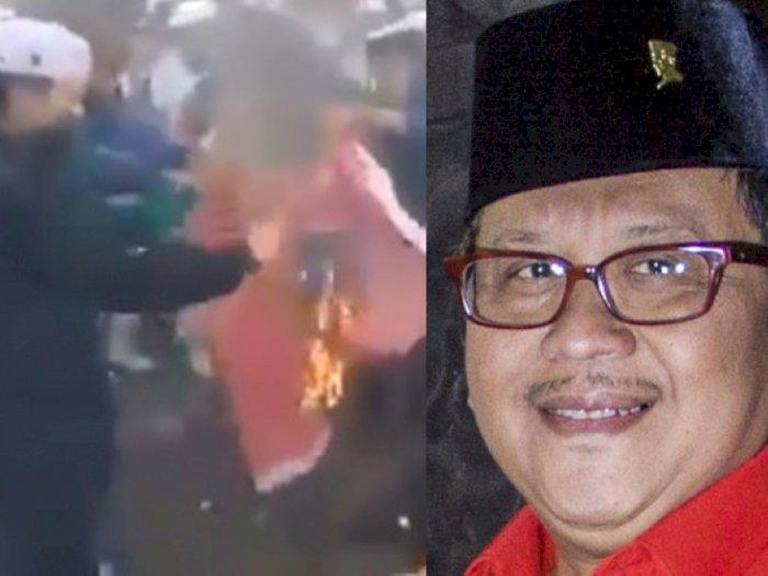 Bendera Dibakar Massa Sambil Diteriaki PKI, PDI-P Tempuh Jalur Hukum