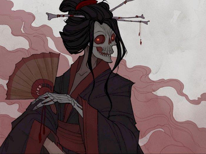 Hone-onna, Makhluk Mitologi Jepang yang Mencari Mantan Kekasihnya