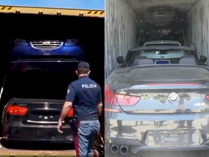 Duh! Sebanyak 40 Unit Mobil Curian Diciduk Kepolisian Italia dan Bea Cukai Kanada