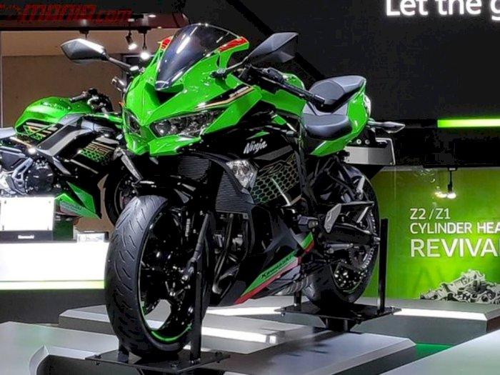 Lama Dinanti, Kawasaki Ninja Empat Silinder Siap Melantai di Indonesia
