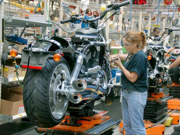 Angka Penjualan Turun, Harley Davidson PHK Ratusan Karyawan di AS