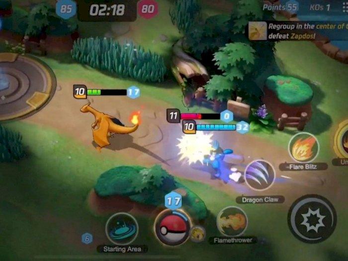 Baru Diumumkan, Trailer Game Pokemon Unite Dapat Jumlah Dislike 129 Ribu