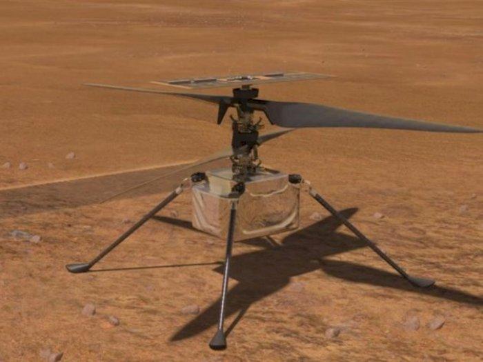 Siap Dikirim ke Mars, Ini Penampakan Desain Helikopter Rancangan NASA