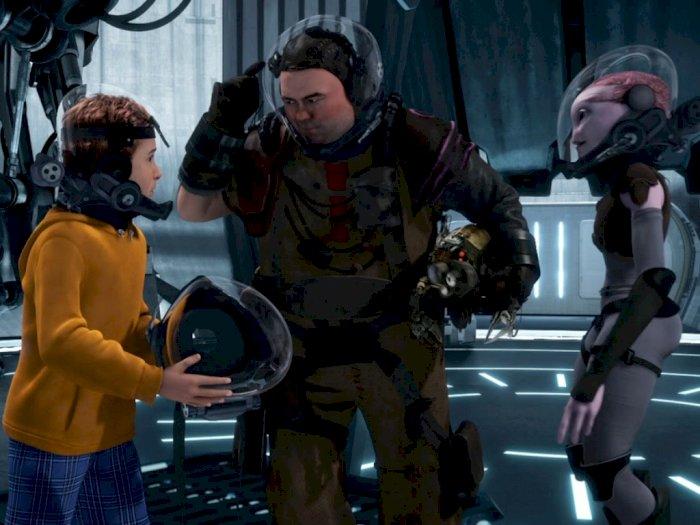 """""""Mars Needs Moms (2011)"""" - Seorang Ibu yang Jadi Incaran Alien"""