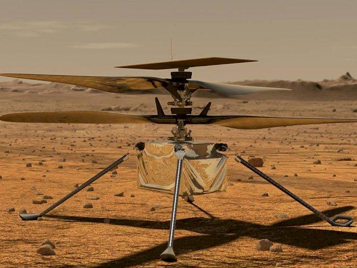 Seperti Ini Tampilan Helikopter NASA yang Bakal Terbang di Planet Mars!
