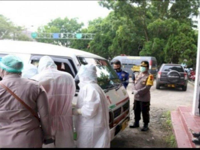 Sejumlah Sopir Angkot di Tebingtinggi Jalani Rapid Test