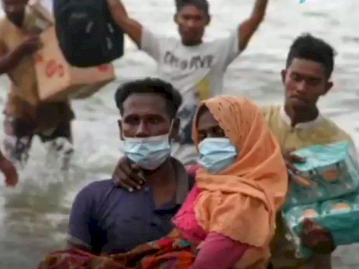 Nelayan Aceh yang Berjasa, Kemlu yang Klaim: Pemerintah Selamatkan 99 Migran Rohingya