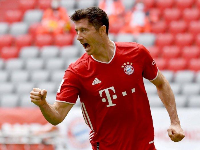 Selamat! Robert Lewandowski Sabet Gelar Pemain Terbaik Bundesliga