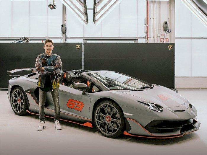 Jorge Lorenzo Beli Mobil Lagi, Kali Ini Aventador SVJ 63 Roadster