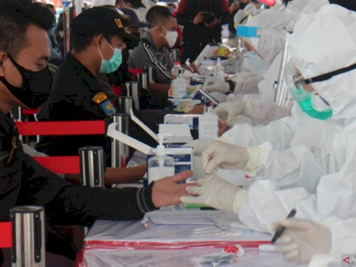 Sebanyak 92.964 Warga Surabaya Telah Menjalani Rapid Test COVID-19 Gratis