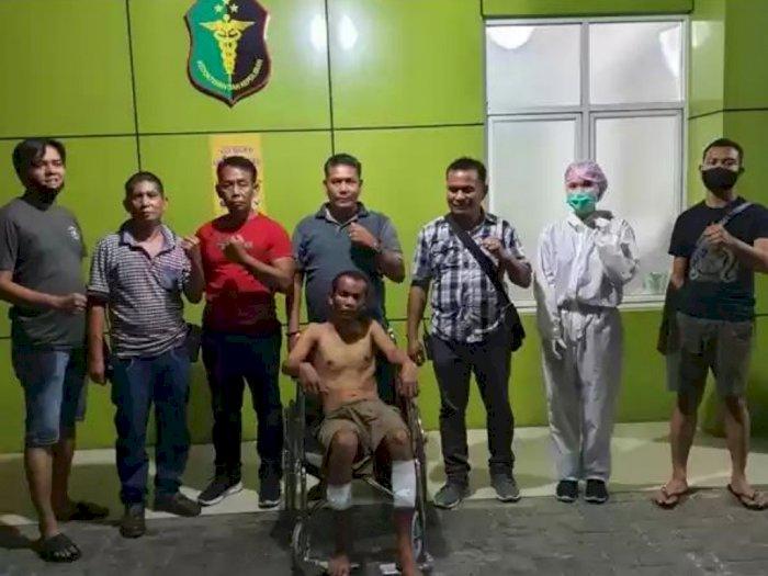 Polsek Medan Area Ringkus Maling yang Tikam Warga Hingga Kritis