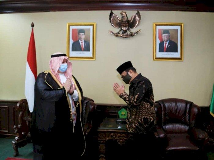 Ketemu Dubes Arab Saudi, Menag Berharap Ada Tambahan Kuota Haji untuk Indonesia