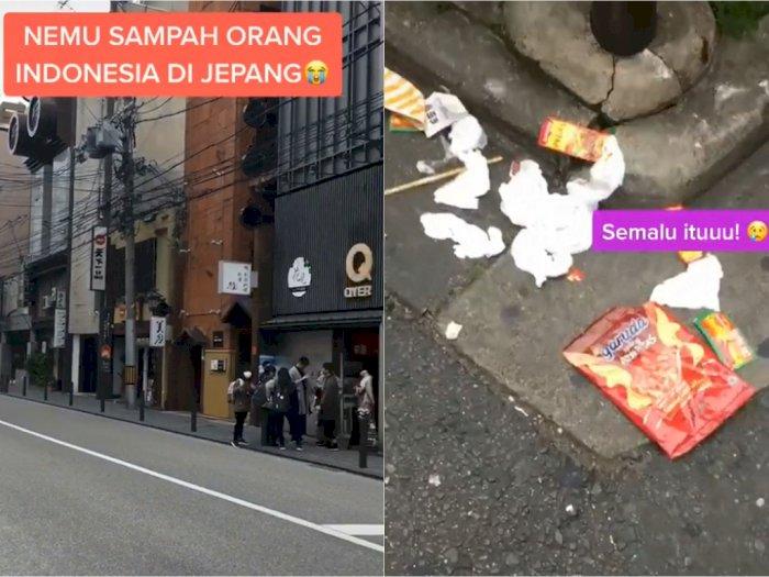 Malu! Ada Orang Indonesia Diduga Buang Sampah  Sembarangan di Jepang