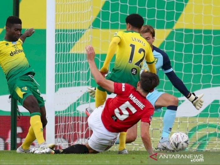 Lolos ke Semifinal Piala FA Usai Tekuk Norwich, MU Bakal Jumpa Lawan Berat