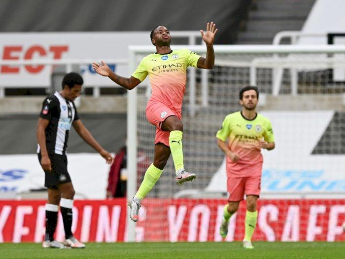 FOTO: Hajar Newcastle 2-0, Man City Lolos ke Semifinal Piala FA