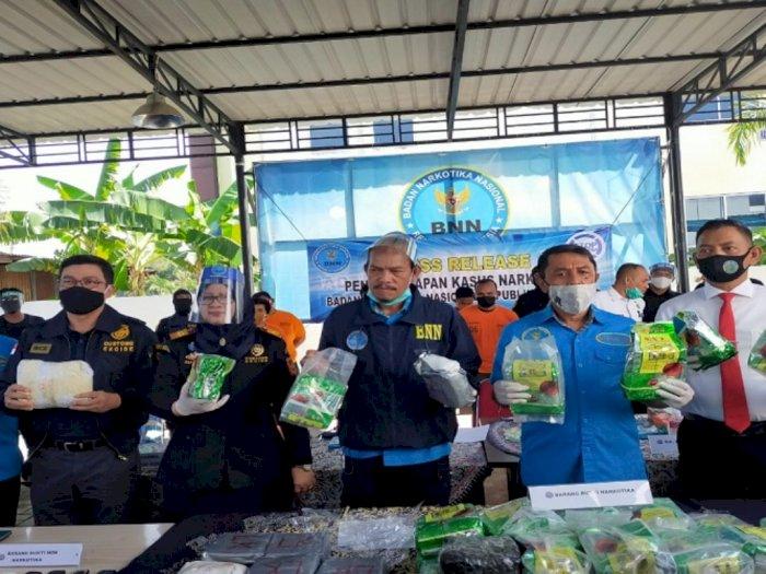 40 Kg Sabu Nyaris Beredar di Sumut, Siap Disebar di 3 Lokasi Berbeda