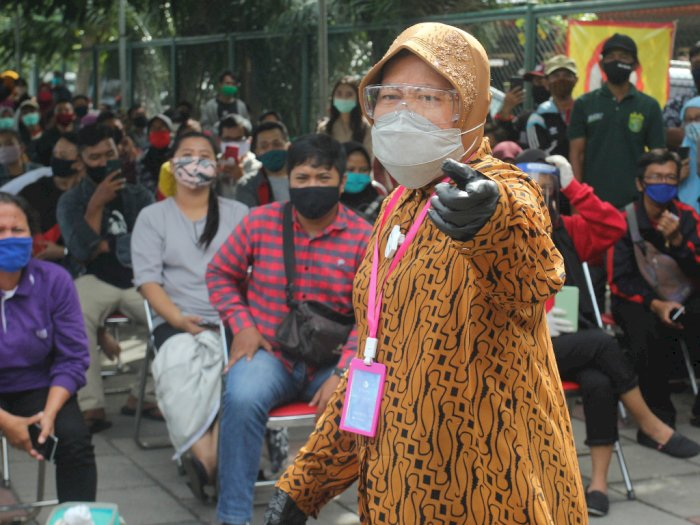 Risma Minta RW se-Surabaya Peduli Pada Warga yang Positif COVID-19