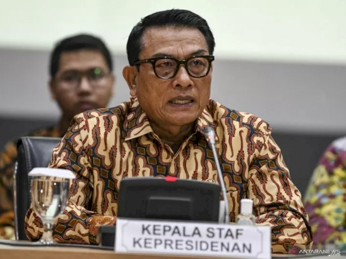 Moeldoko Sebut Presiden Jokowi Berkali-kali Ultimatum Menteri untuk Tangani Corona