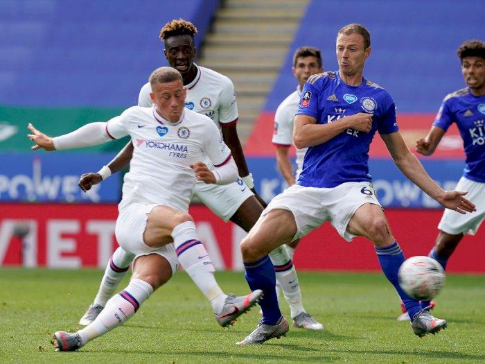 FOTO: Gol Tunggal Ross Barkley Antar Chelsea ke Semifinal Piala FA