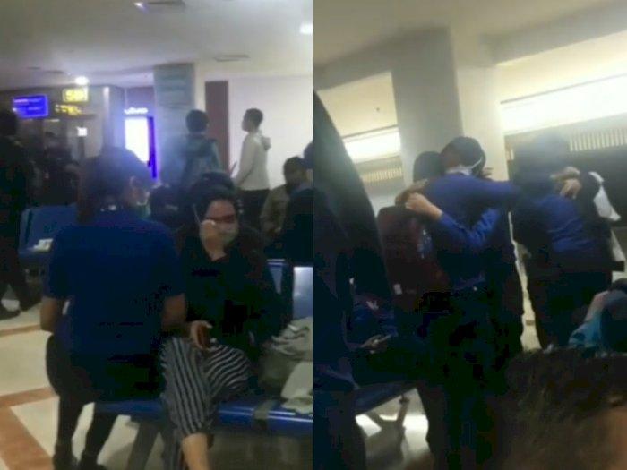 Viral Video Karyawan Menangis, Lion Air Bantah Lakukan PHK Massal