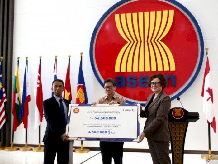 Pemerintah Kanada Salurkan 90 Ribu Masker Bedah Senilai Rp47,3 M ke ASEAN