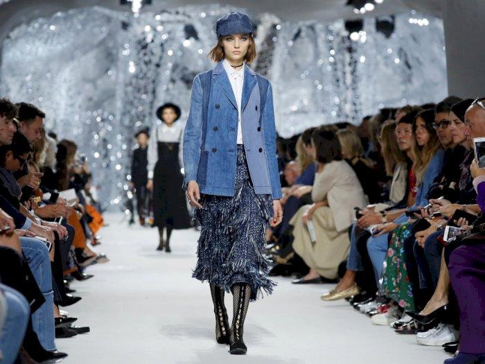 Brand Fashion Dior Ramaikan Fashion Show di Italia Tanpa Penonton