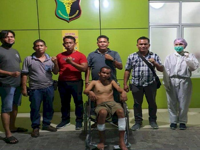 Polisi Medan Tembak Pelaku Pencurian yang Tikam Warga
