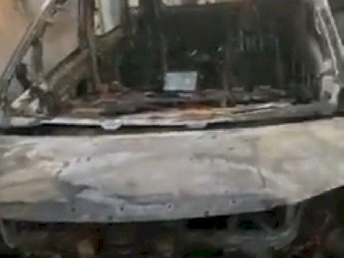 Terduga Pembakar Mobil Via Vallen Sempat Tulis Ancaman di Tembok Rumah, Ini Tulisannya