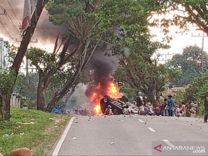 Pasca Kerusuhan di Madina, Kades Mompang Julu Akhirnya Mengundurkan Diri