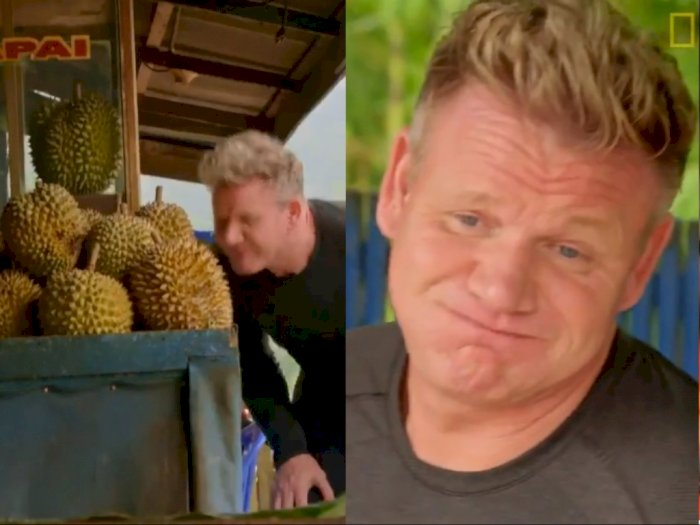 Kunjungi Sumatera, Gordon Ramsay: Durian Buah Paling Bau di Bumi